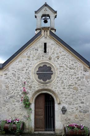 savoie randonnée lac saint-jean-de-chevelu avant-pays savoyard église