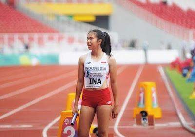 Inilah Sprinter Cantik Yang Bakal Tampil Di Asian Games 2018