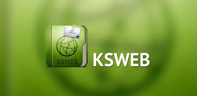 تنزيل KSWEB: server + PHP + MySQL PRO 3.971 - تطبيق شامل لتطوير تطبيقات PHP