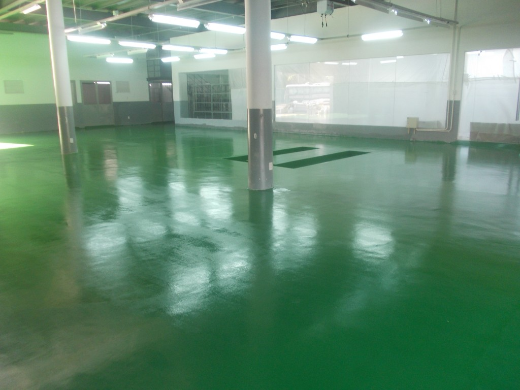Floor painting of factories, hospitals, schools Go Vap - HCMC