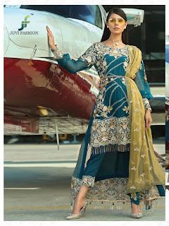 Juvi fashion Iznik Luxury collection pakistani Suits