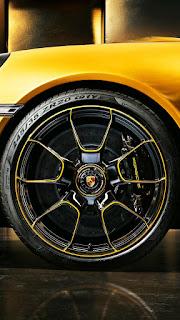 Yellow Car Mobile HD Wallpaper