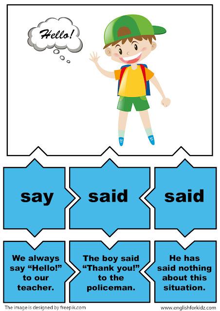 esl grammar activity irregular verbs