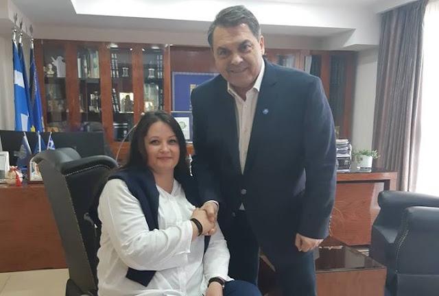 """Η Μαριάνθη Κομνηνού συμπορεύεται με τον Δημήτρη Καμπόσο και την """"Αλλαγή Πορείας"""""""