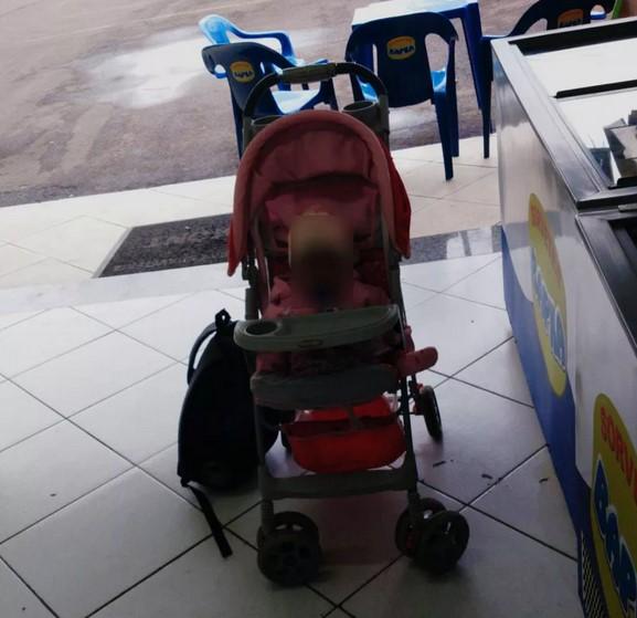 Menina de 9 meses é abandonada em sorveria no Paraná