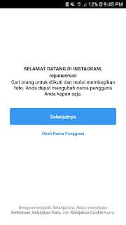 Ubah username instagram