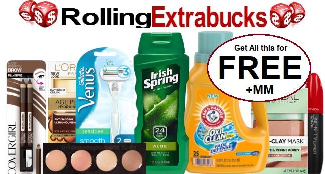 Rolling Extrabucks CVS Freebie Deal 2-16-2-22
