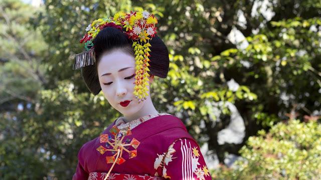Geisha, Geiko, Hangyoku, dan Maiko