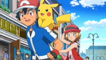 Capitulo 45 Temporada 19: ¡El último combate con Ash! ¡La elección de Serena!