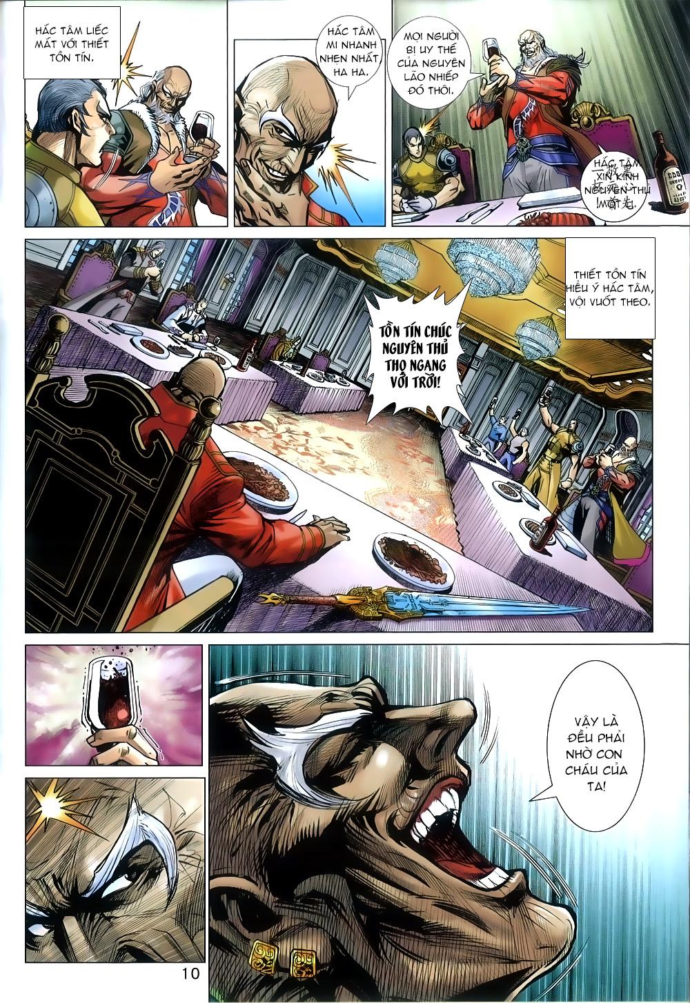 Tân Tác Long Hổ Môn chap 815 - Trang 10