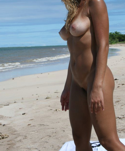 Think, nude brazilian on beach