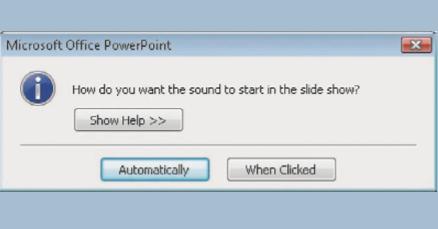 Cara Memutar Suara Secara Continue Di PowerPoint