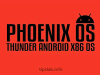 Phoenix OS Thunder v4.0 Android x86 OS For Low Ended PC