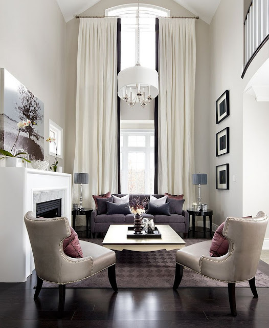 Decorating Ideas For Living Rooms With High Ceilings Fabulous Contemporary