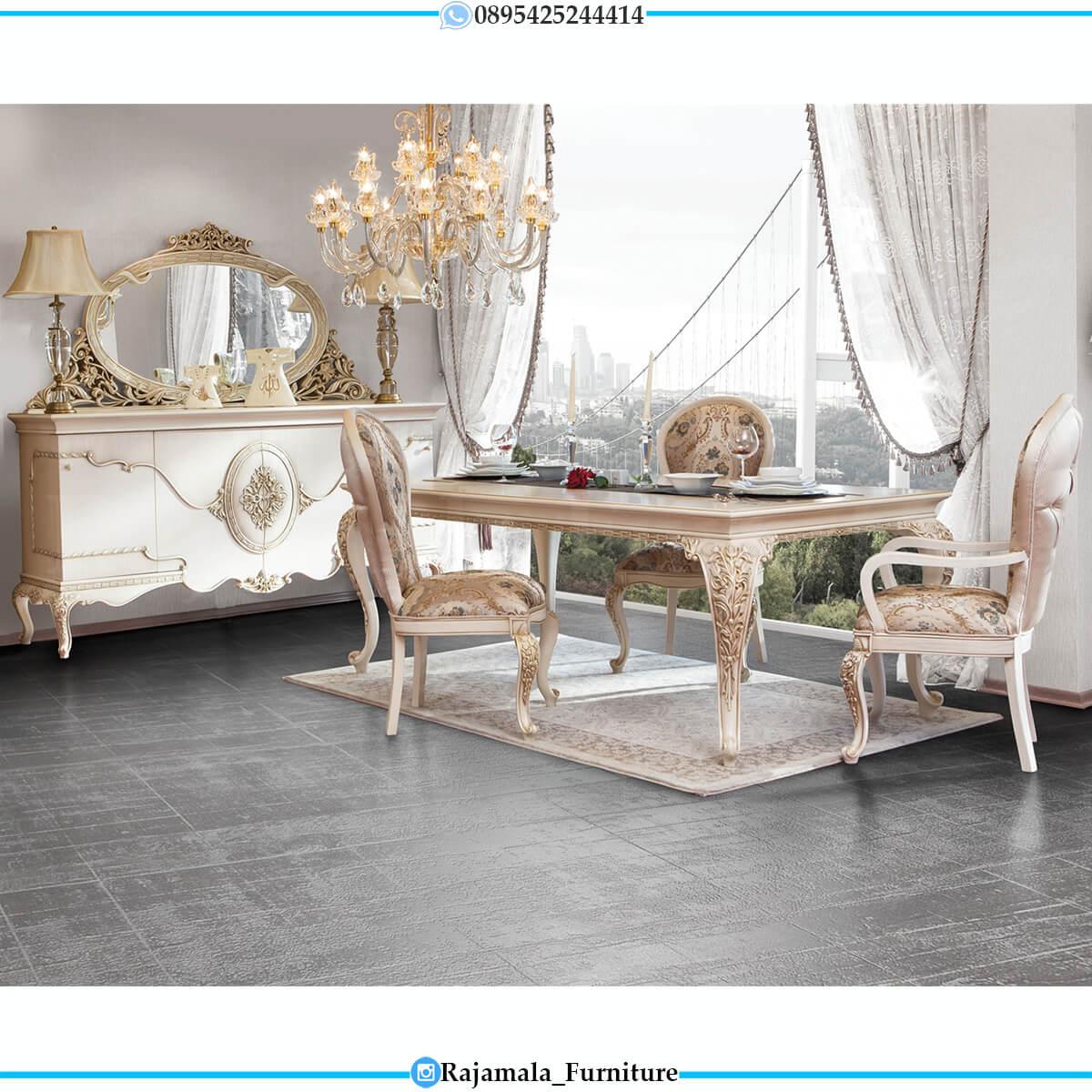 Beauty Style Meja Makan Mewah Terbaru Luxurious Epic Design RM-0713