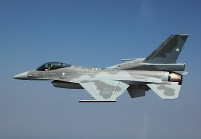 1/600th Chilean F-16's for Naval Command