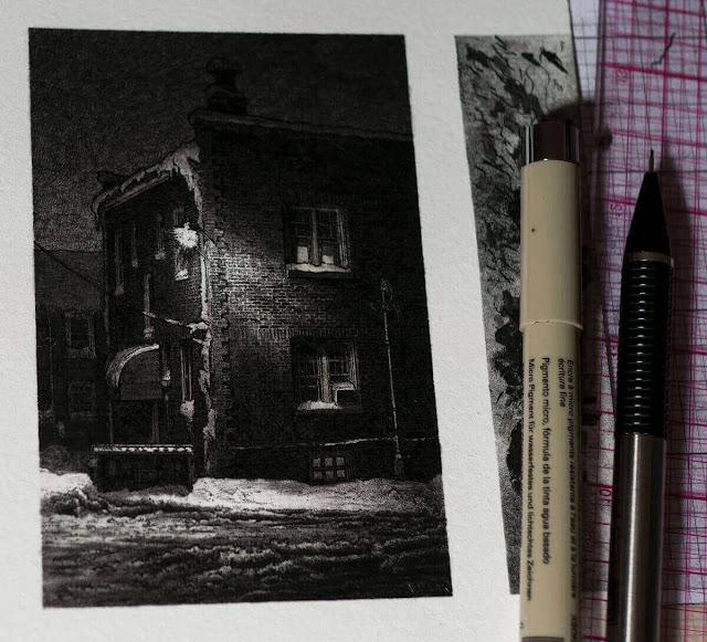 Ilustración de edificios