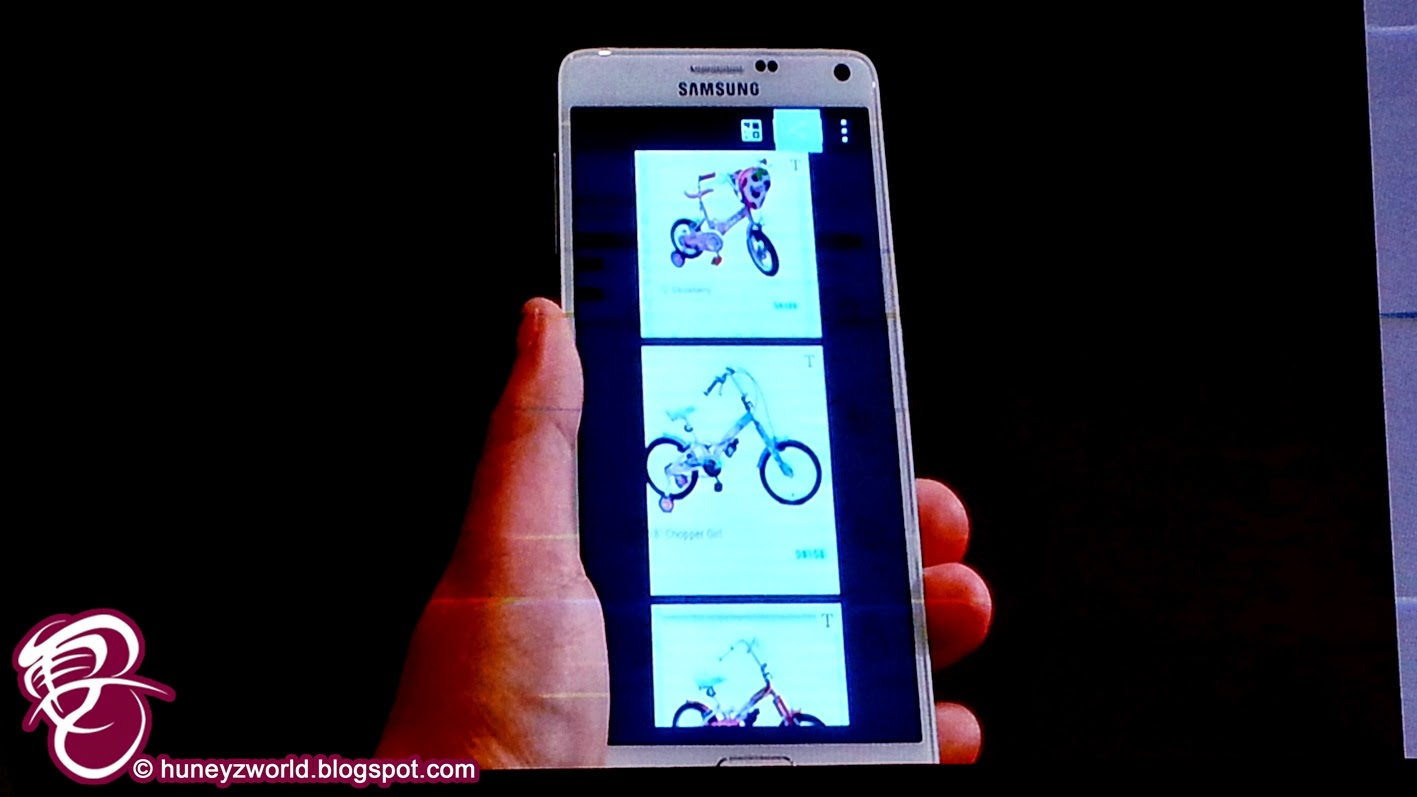An Experience With The Samsung GALAXY Note 4.... Huney'Z