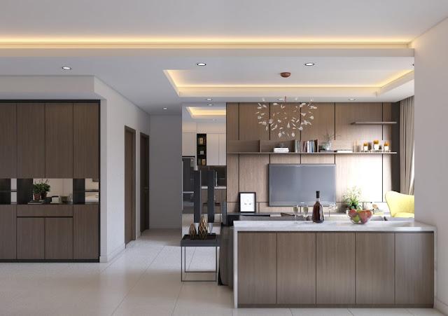 Thiết kế vị trí phòng bếp Hoàng Gia New Melbourne hợp phong thủy