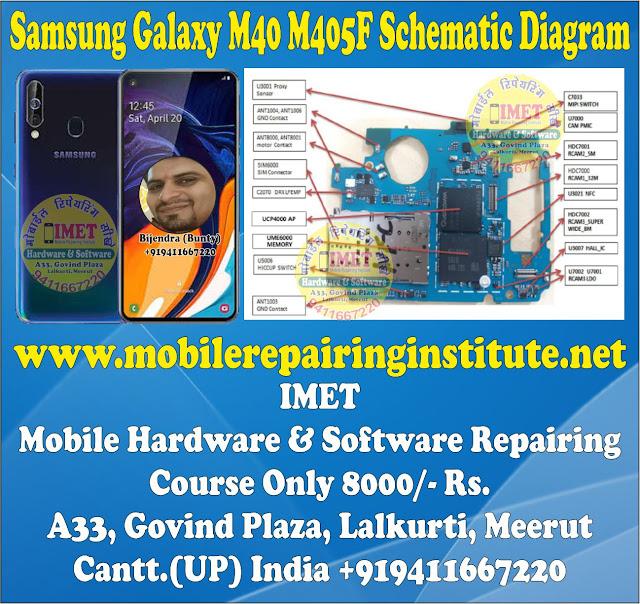 Samsung Galaxy M40 M405F Schematic Diagram – Service Manual Download