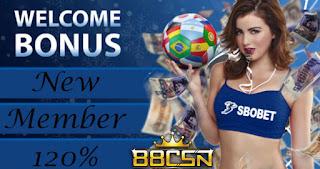 Situs Judi Bola Sbobet 88CSN Terbaik Dan Terpercaya Bonus 120%