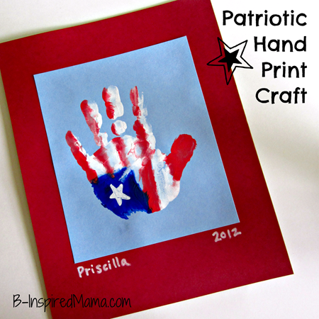 National Day Craft For Preschoolers