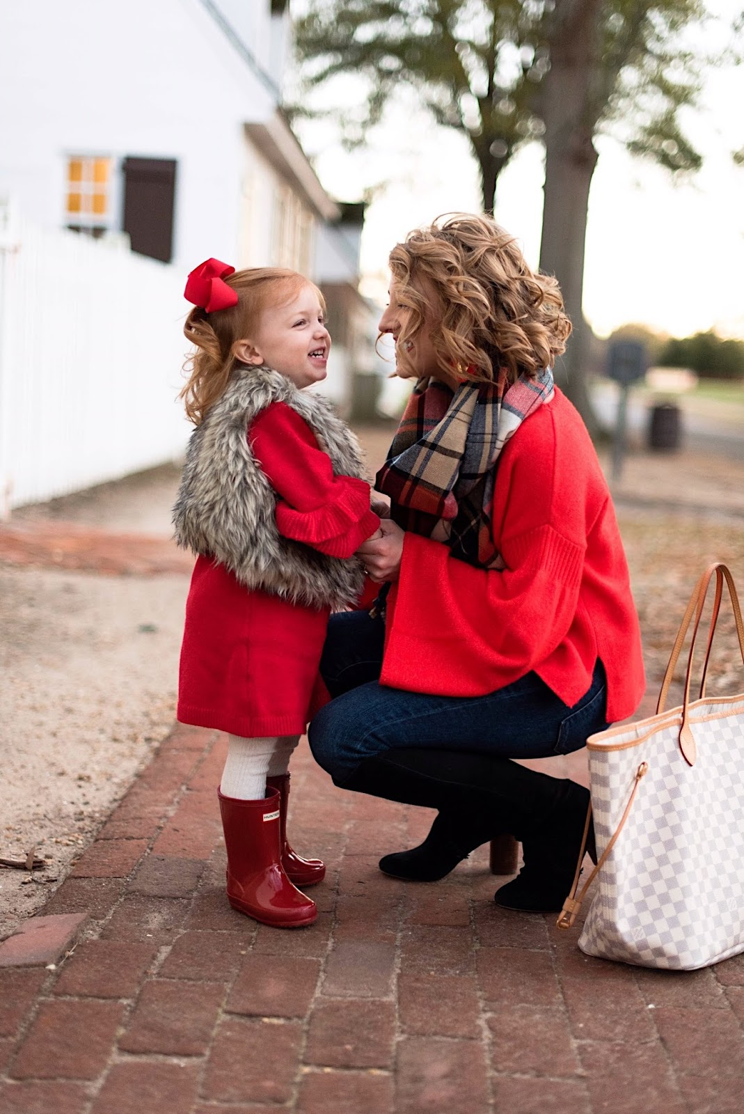 Mommy & Me Holiday Looks - Something Delightful Blog