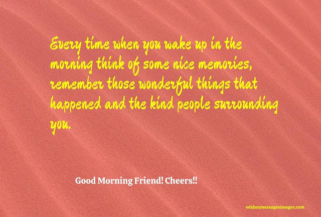good morning my sweet friend