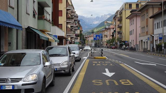 Via Druso e i Catenacci sul fondo