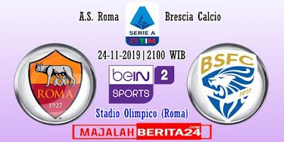 Prediksi AS Roma vs Brescia — 24 November 2019
