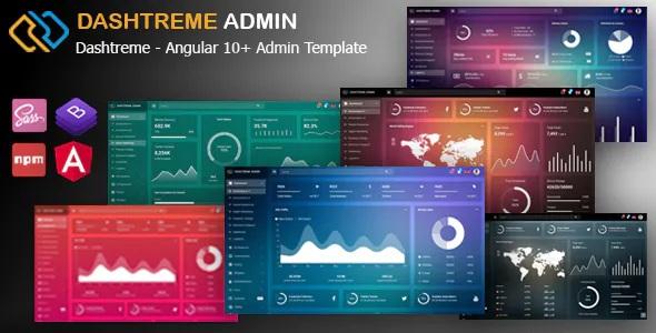 10+ Admin Dashboard Template