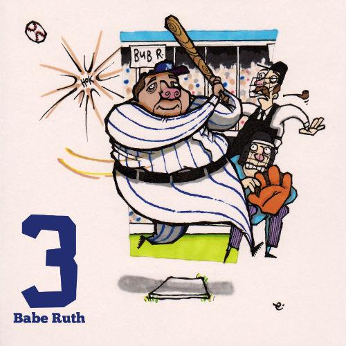"""George Herman """"Babe"""" Ruth 1895-1948"""