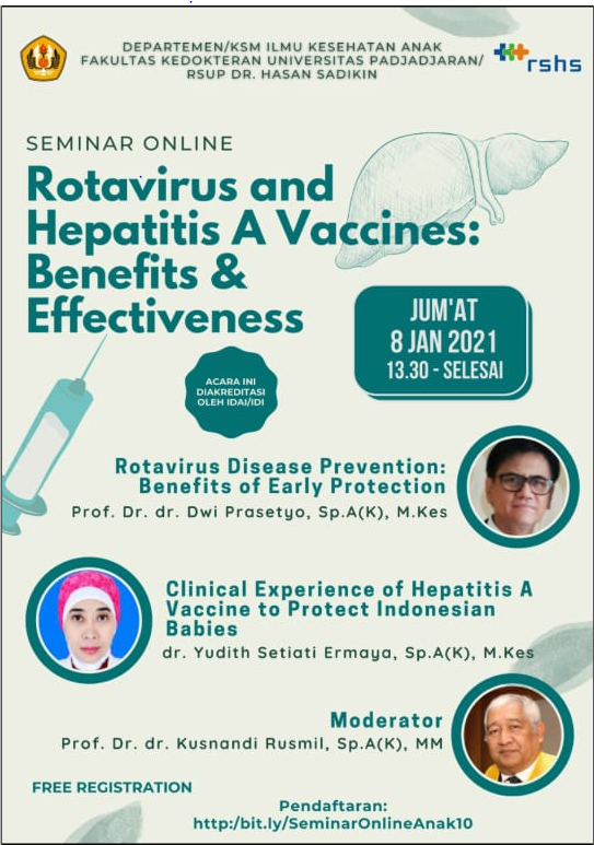 GRATIS SKP IDI Seminar Online Rotavirus and Hepatitis A Vaccines: Benefit & Effectiveness