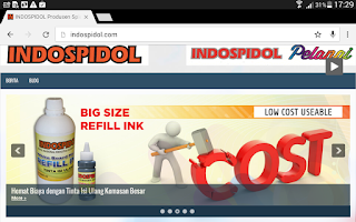 www.indospidol.com dilhat web browser