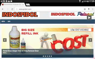 www.indospidol.com dilhat web browser