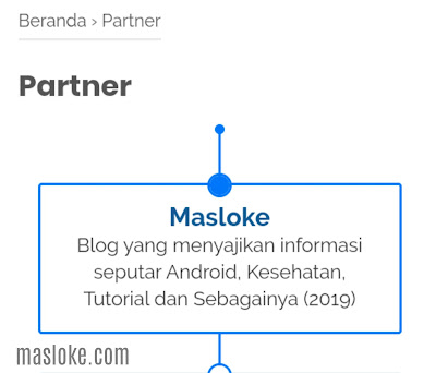 cara membuat halaman partner keren di blogger
