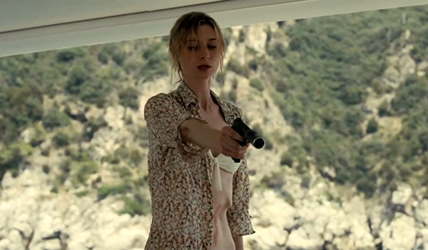 Kat (Elizabeth Debicki) will protect her son at all costs in TENET.