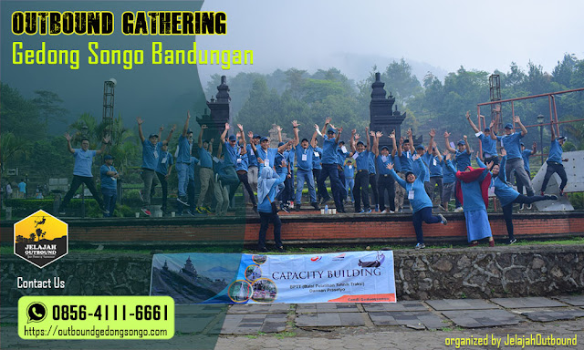 outbound employee gathering gedong songo