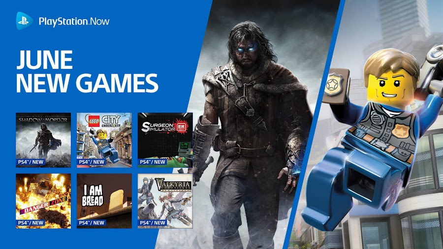 playstation now middle earth shadow of mordor valkyria chronicles remastered ps4 lineup