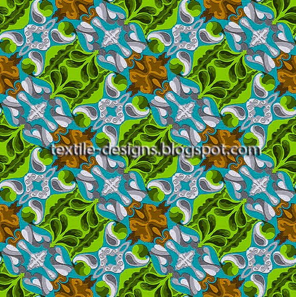 indian textile pattern and design 4