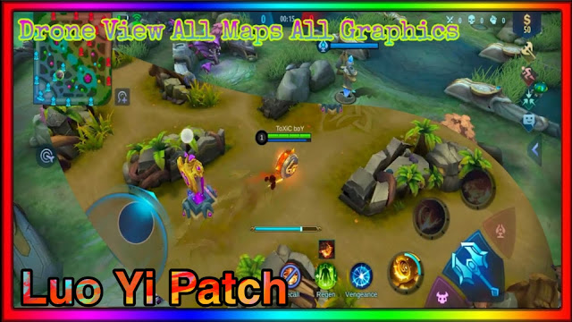 SCRIPT DRONE VIEW MOBILE LEGENDS PATCH LUO YI 1.4.77