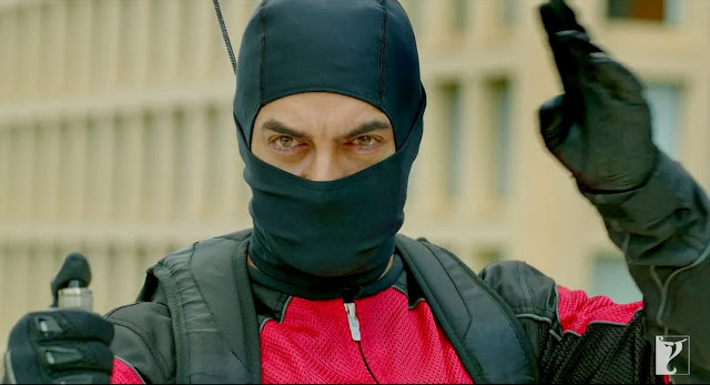 Aamir Khan Latest Stills In Dhoom 3 Movie