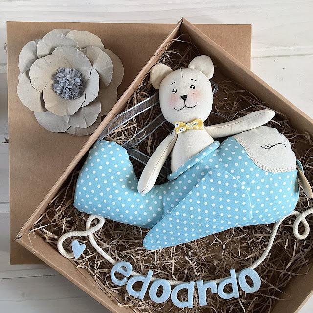 fiocco nascita handmade