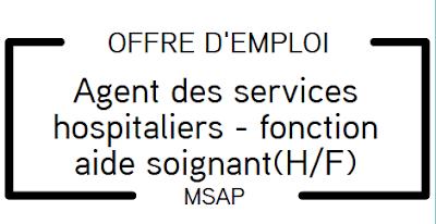 Offre d'emploi : ASH (H/F)