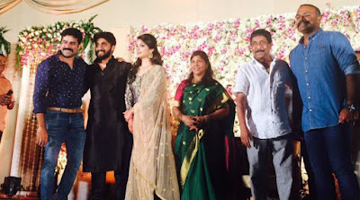 Dhyan Sreenivasan & Arpita Sebastian Wedding reception