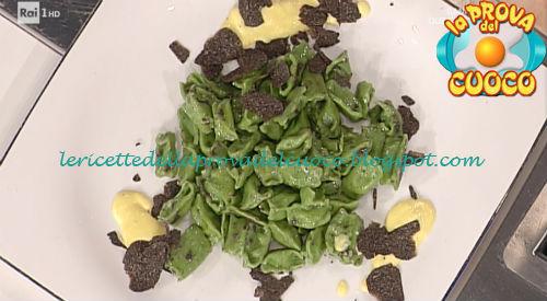 Ricetta degli Agnolotti verdi al plin ripieni di fonduta