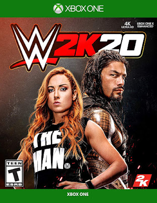 Wwe 2k20 Game Cover Xbox One Standard
