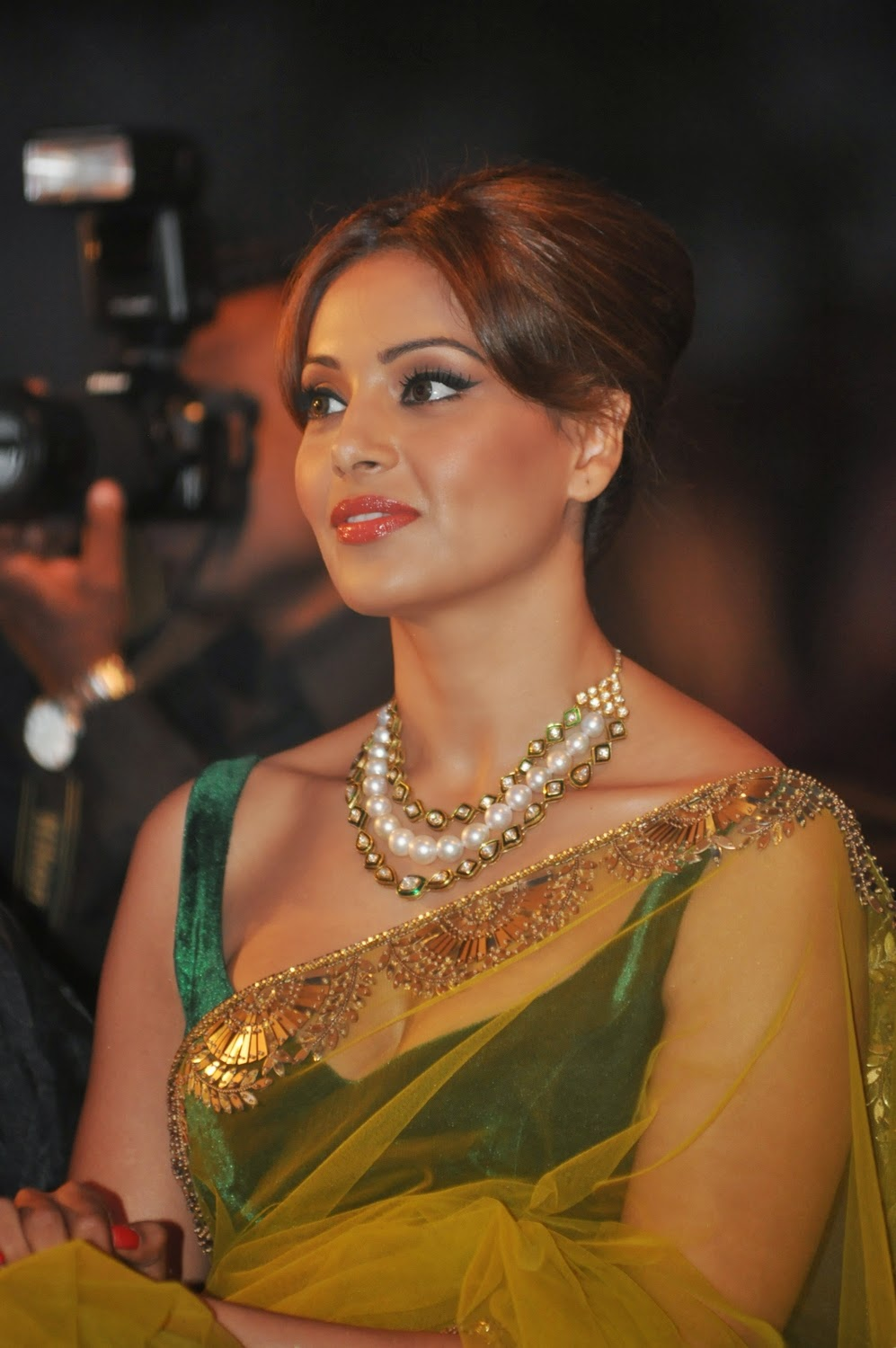 TRANSPARENT SAREE PHOTOS