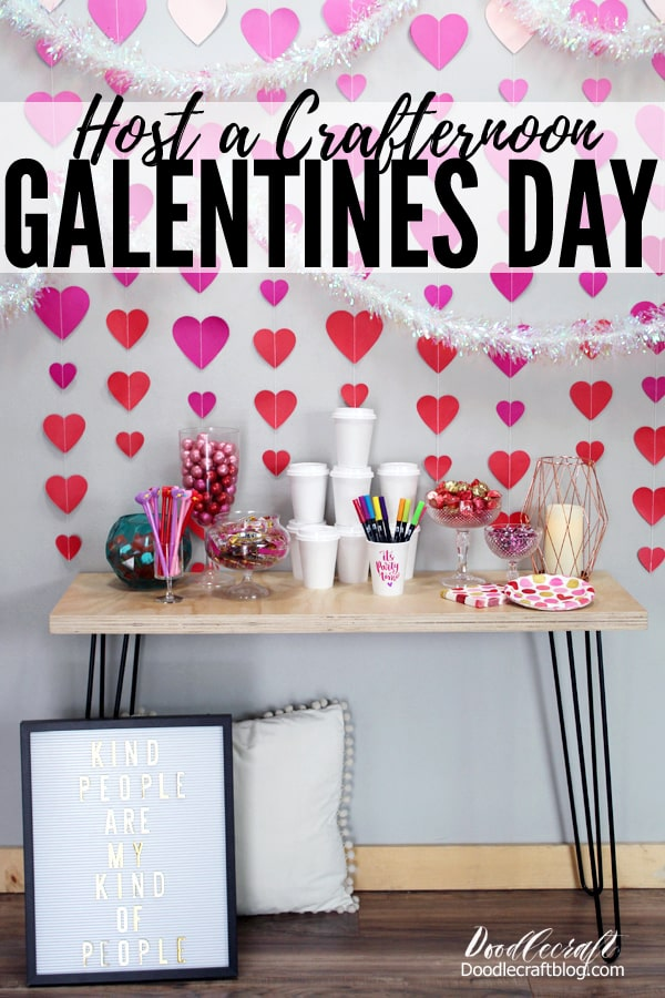 Host the perfect Happy Galentine's Day Party with Oriental Trading party supplies. Invite your besties over for some coffee cup decorating, yummy treats and lots of chatting! Everything needed for the perfect Valentine's party at Oriental Trading.