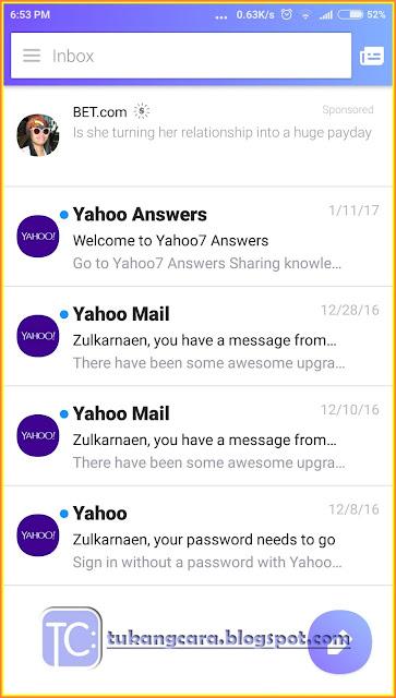 Cara Setting Email Yahoo Di Android Dan Bagaimana Masuk